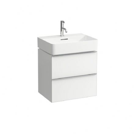 810282 - Laufen Val 550mm x 420mm Washbasin & Space Vanity Unit - 8.1028.2